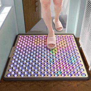 Alfombrillas Esterilizadas, Almohadillas De Limpieza Doméstica para Pies, Limpieza Automática De Suelas De Zapatos