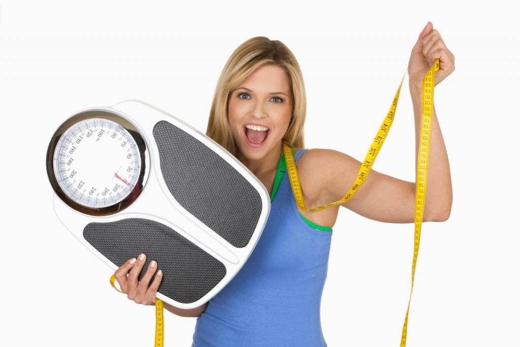 Mantente en forma y un buen peso