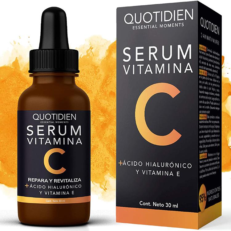 Serum Vitamina C + Ácido Hialurónico + Vitamina E- Serum Facial