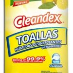 Universal Wipes Toallas desinfectante Húmedas Clenadex Limón para Superfices (240 Toallitas Húmedas)