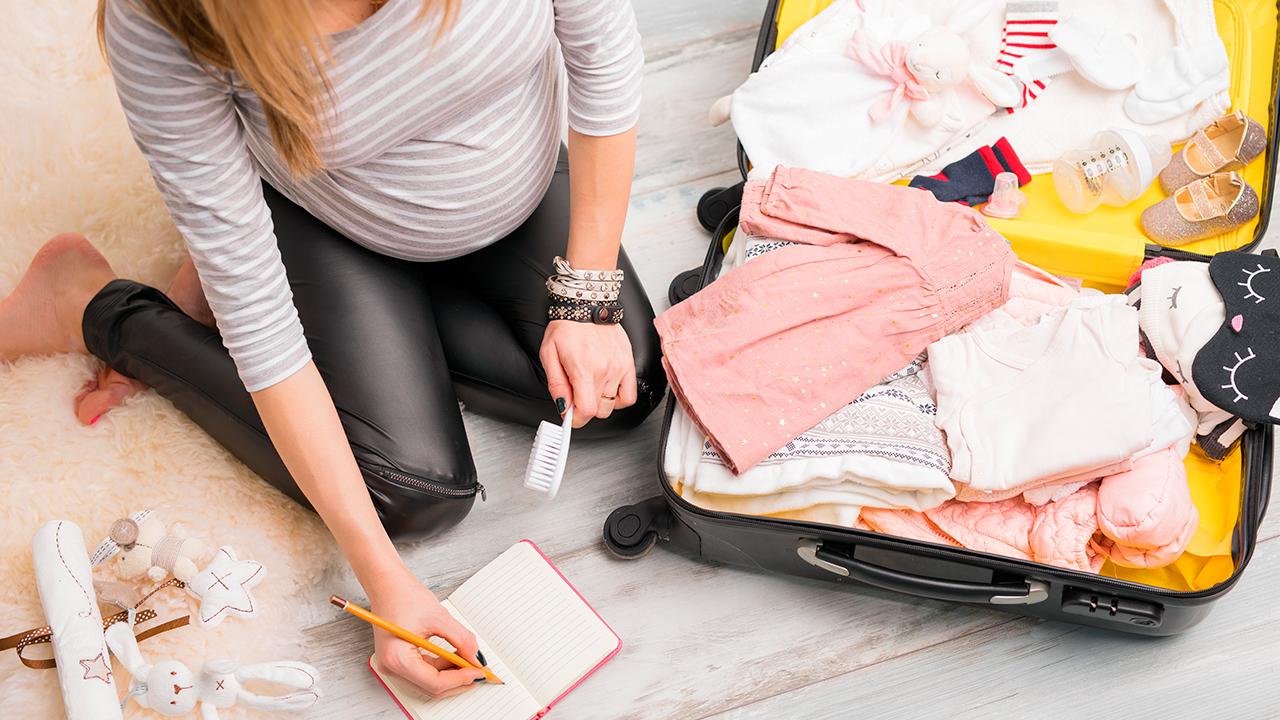 Maleta antes de dar a luz